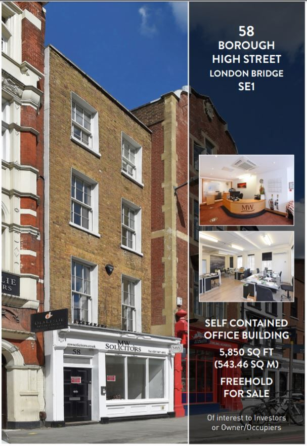 Launching a new sale of interest to investors and owner/occupiers.