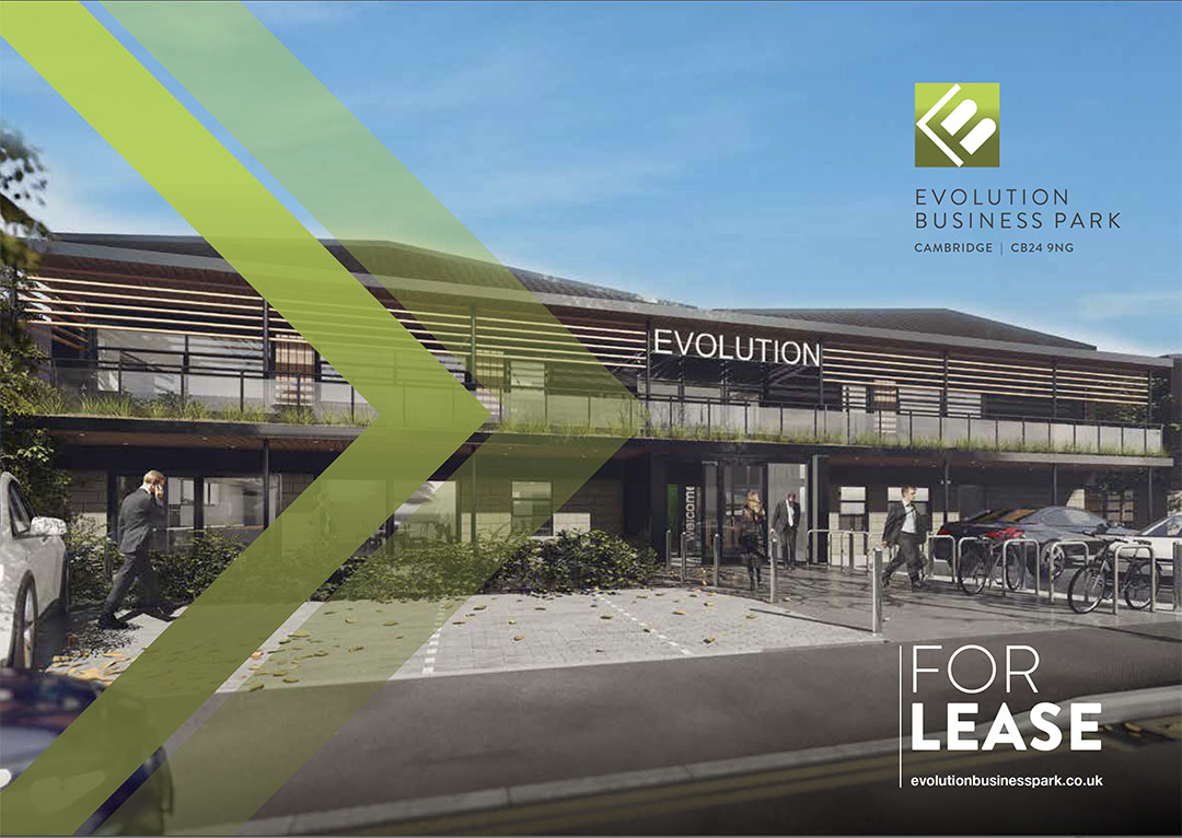 Fully fitted out tenant packages available at Evolution Park, Cambridge