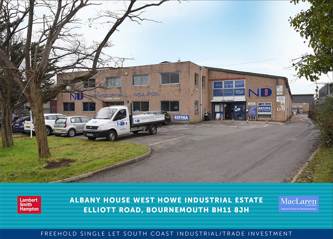 Great to work with you Luke Mort and Matthew Barker at Lambert Smith Hampton. Good result for our client.