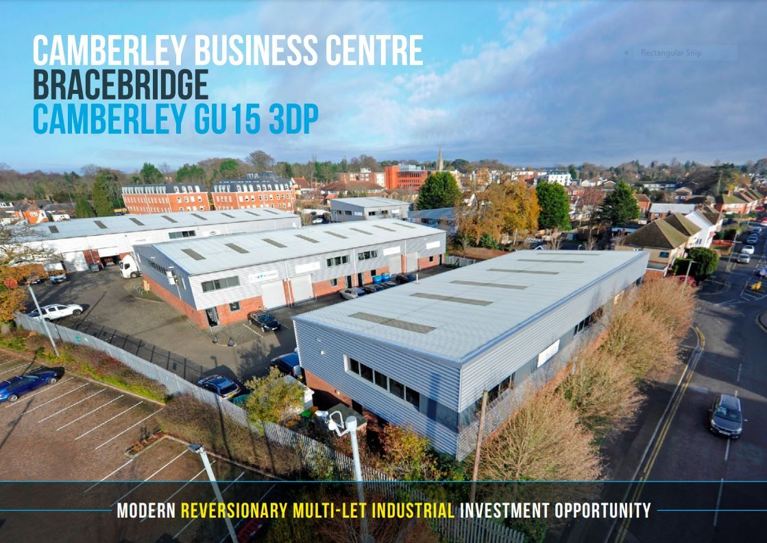 Launching two south east multi-let industrial investments
